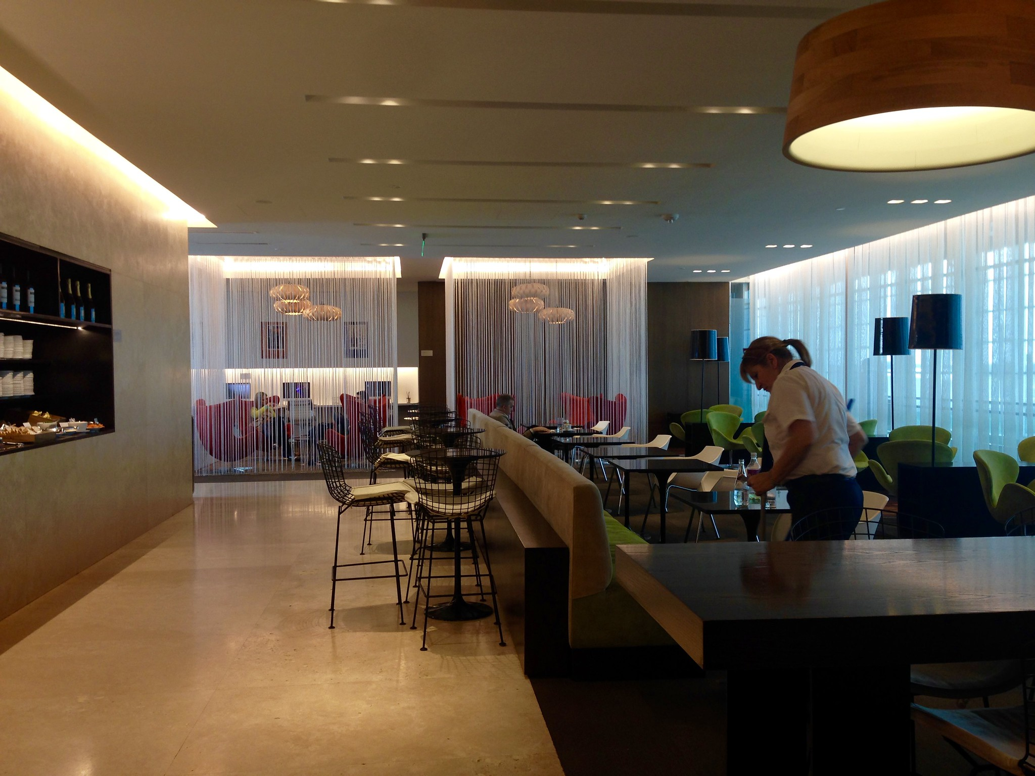 EZE Ezeiza Buenos Aires International Airport AMEX Centurion Salon