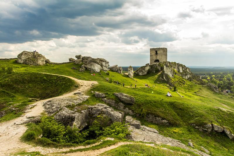 Zamek Olsztyn - Castle in Olsztyn - Góry Towarne