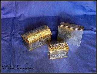 קופסאות טבק כחלק מהאוסף של קופסאות למוצרי עישון
