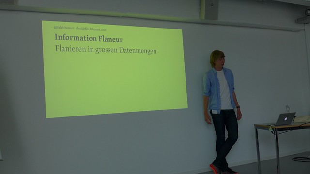 Information Flaneur = Flanieren in grossen Datenmengen