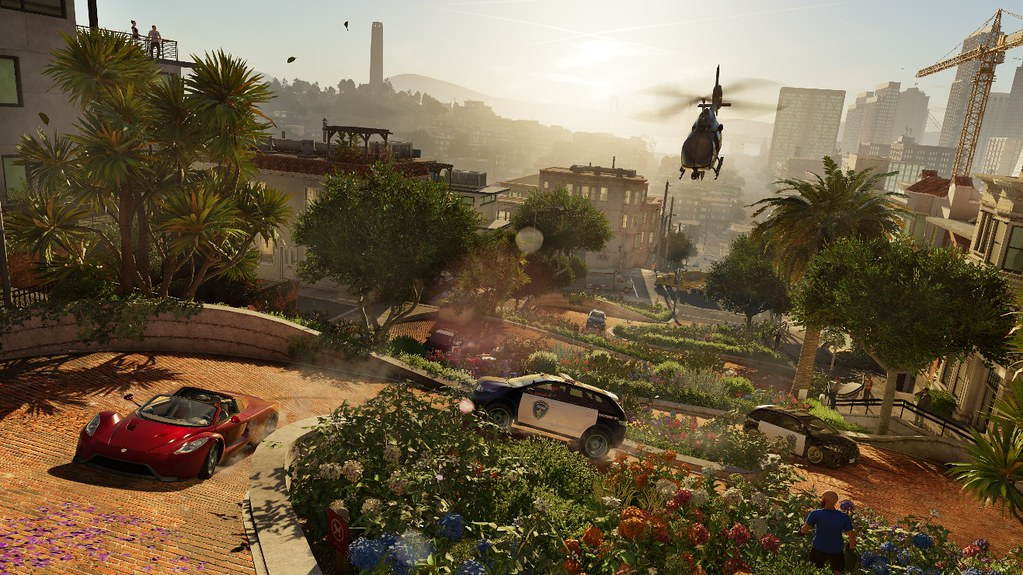 Watch Dogs 2 para PS4 anuncio