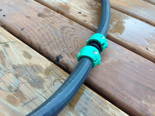 Repaired: hose that has been leaking for 11 years