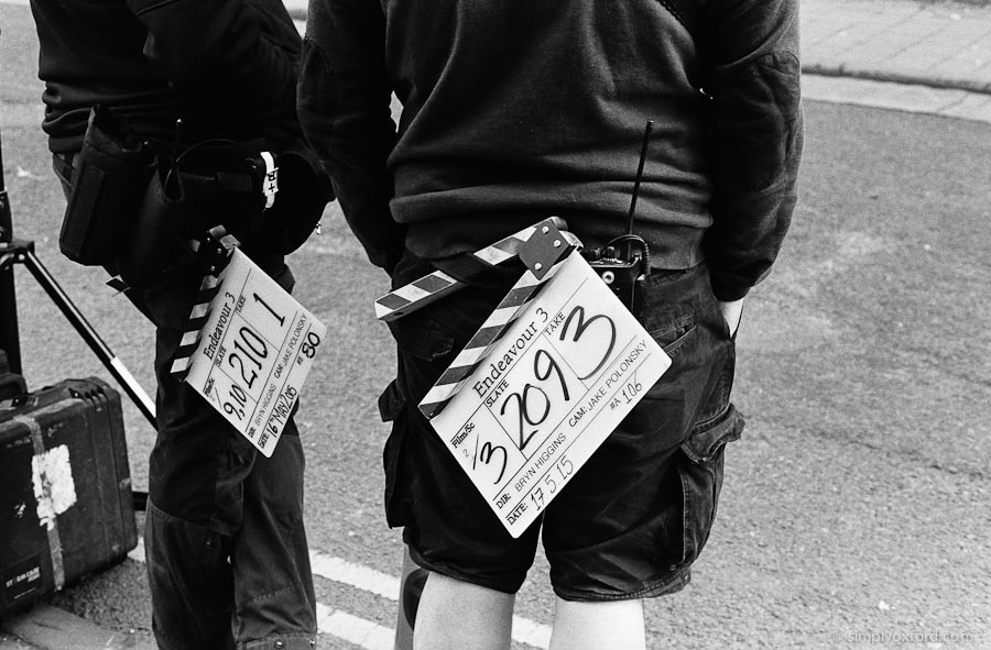 Endeavour, season 3 filming