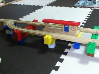 レゴと木製レール2