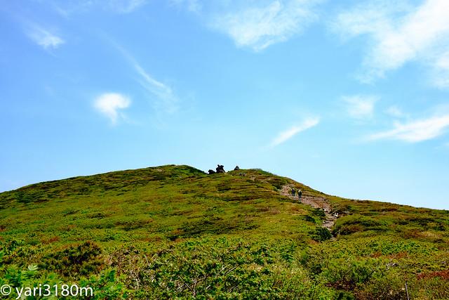 栗駒山稜線