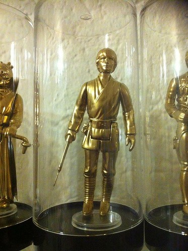 Vintage Star Wars Action Figures 24KT Gold Edition Luke Skywalker