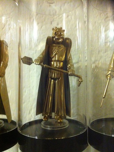 Vintage Star Wars Action Figures 24KT Gold Edition Tusken Raider