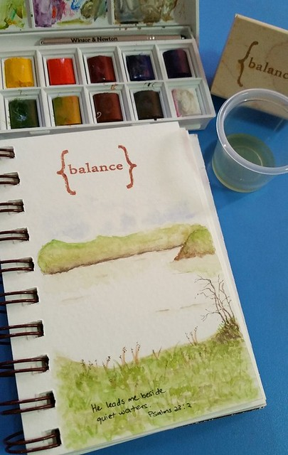 {Balance} Watercolor