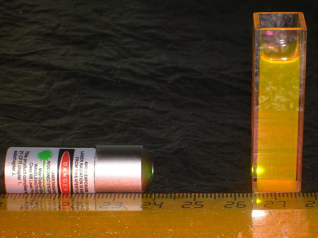 dye_with_laser_pointer