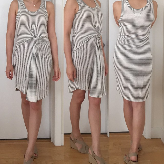 Lou & Grey Knotstripe Dress, size XXS regular