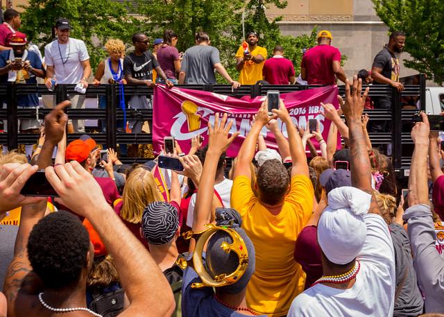 Cavs Victory Parade