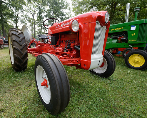 64 Ford 601 Tractor : Ford tractor flickr photo sharing
