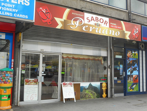 Sabor Peruano, Elephant & Castle, London SE1