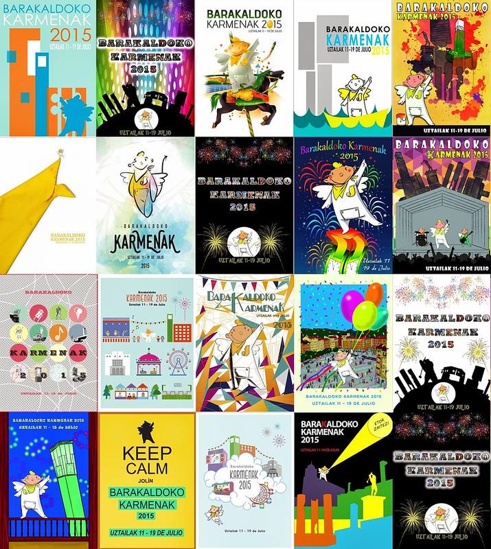 Concurso carteles de Fiestas Barakaldo 2015