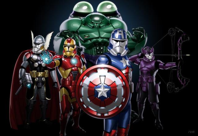 Avengers Clone Troopers by JonBolerjack