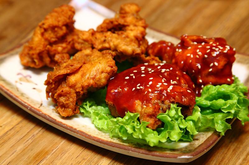 San-Nae-Deul Korean-Fried-Chicken