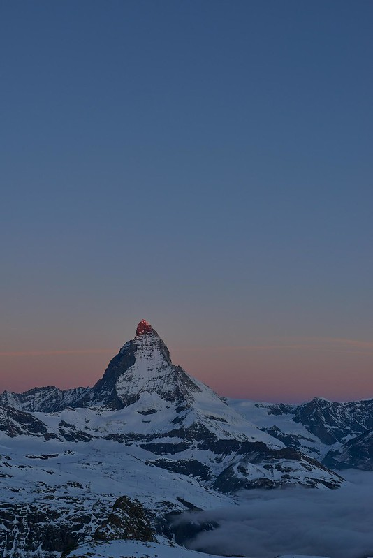 First light 1 - Zermatt