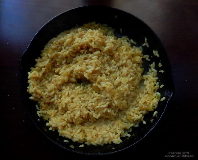 risotto cu pesto de busuioc