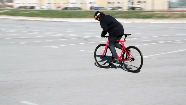 Fixed Gear GYMKHANA