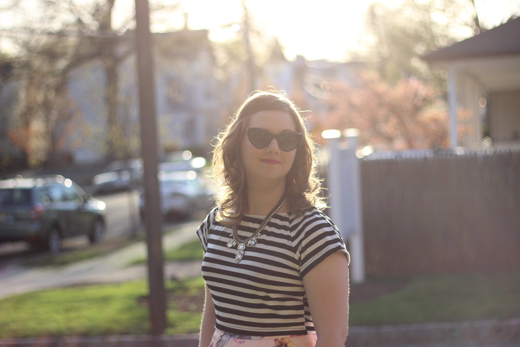 Stripes and Floral Ted Baker (2)