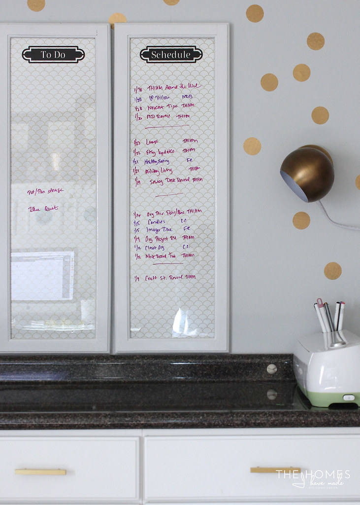 12 Wallpaper Ideas for Renters - Dry Erase Boards