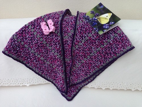 Una thank you for the Shawl.