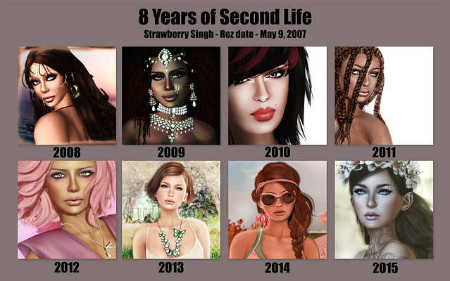 8 Years of Second Life