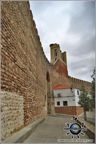 Muralla de Galisteo, Cáceres, Extremadura. España. Spain.