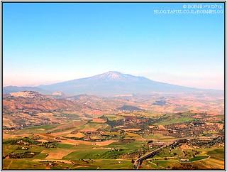 סיציליה - מבט אל הר אטנה