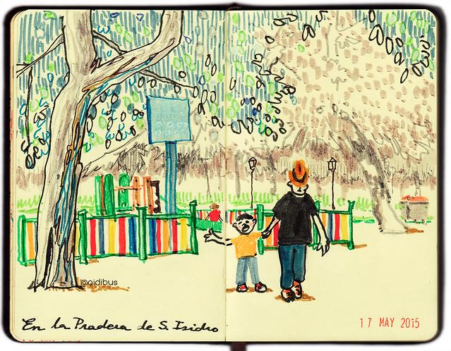 Incomprendido en el parque