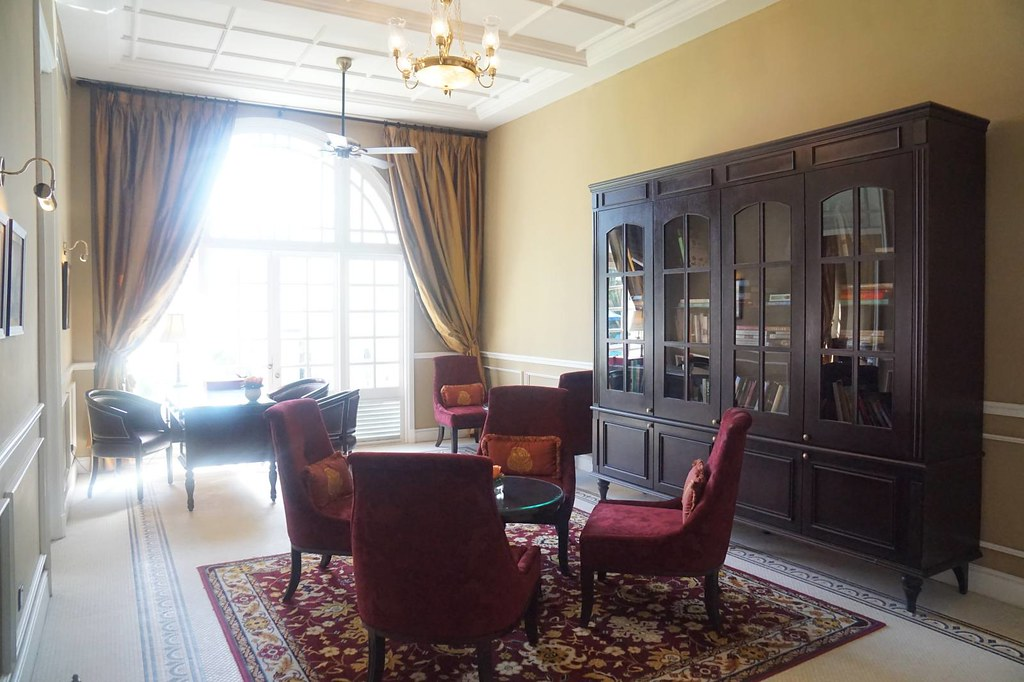 REVIEW stay at Majestic KL - reading room
