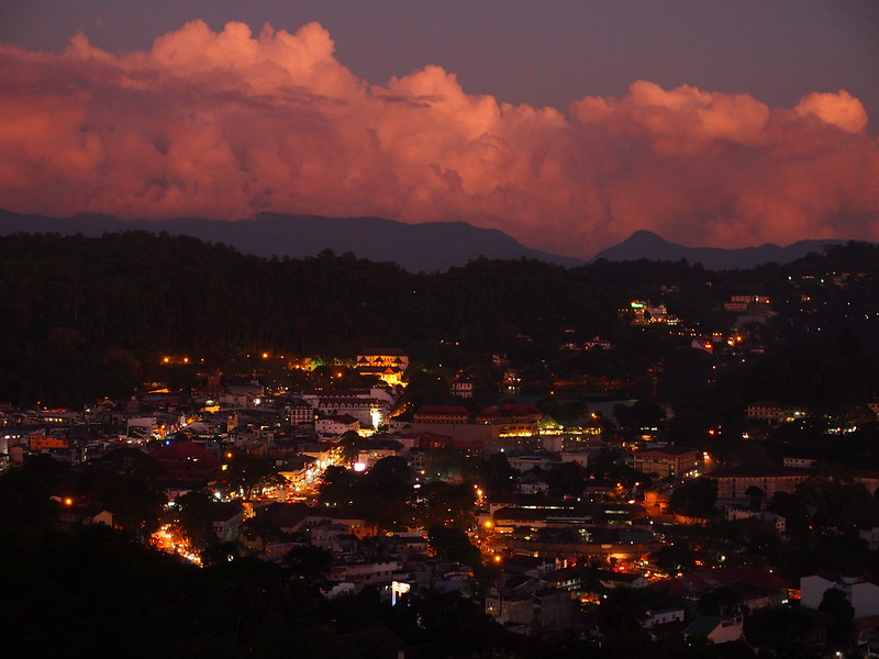 Kandy in Sunset
