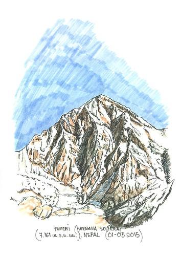 Pumori (7.161 m.s.n.m.)