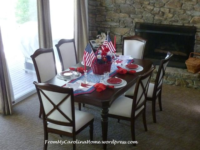 Patriotic Tablescape 4