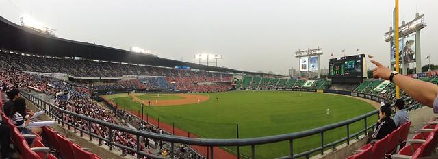 Jamsil Stadium panoramic