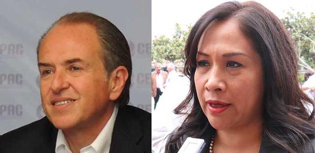 Virtual empate entre candidatos del PRI y PAN a gubernatura