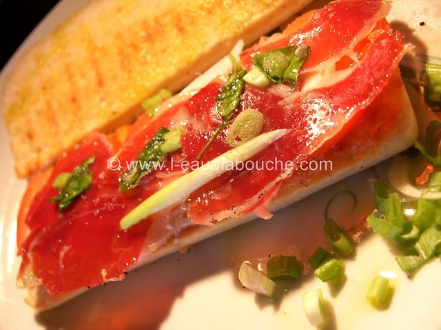 Sandwich au Jambon Ibérique © Ana Luthi Tous droits réservés 14