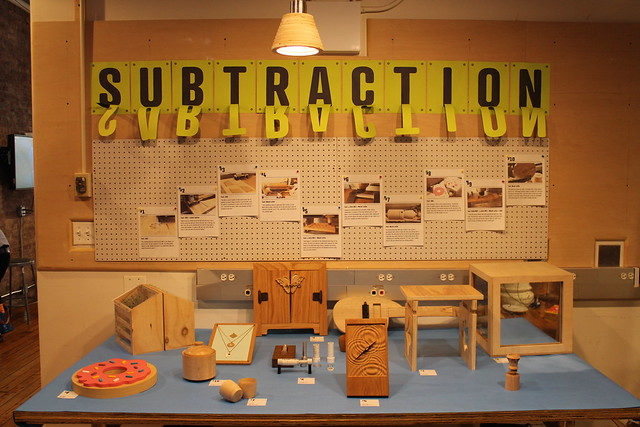 Subtraction at ITP Spring Show 2015