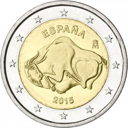 2 Euro Španielsko 2015, Jaskyňa Altamira