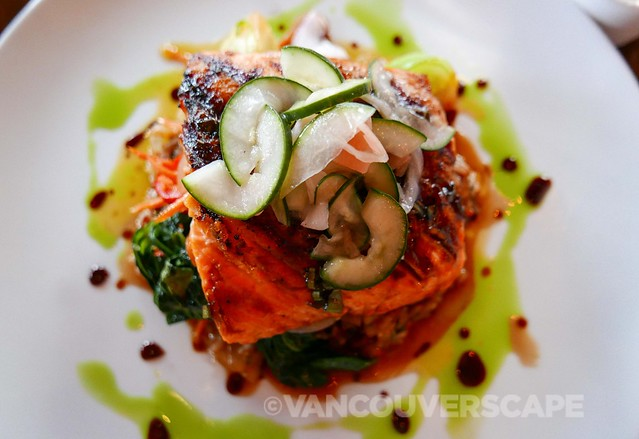 Sockeye salmon, 5 Spice Seafood and Wine Bar