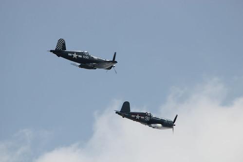 M: F4U Corsairs