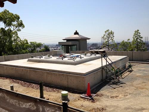 中山寺五重塔建設