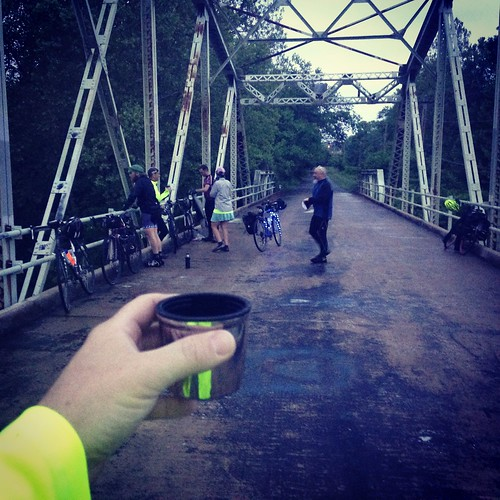 Coffee Ride to Galloway Greenway Iron Bridge - Springfield Sunrise Coffee & Bicycle Club.
