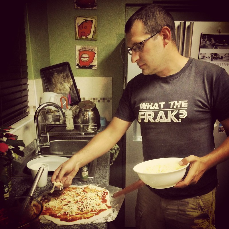 The pizza meister