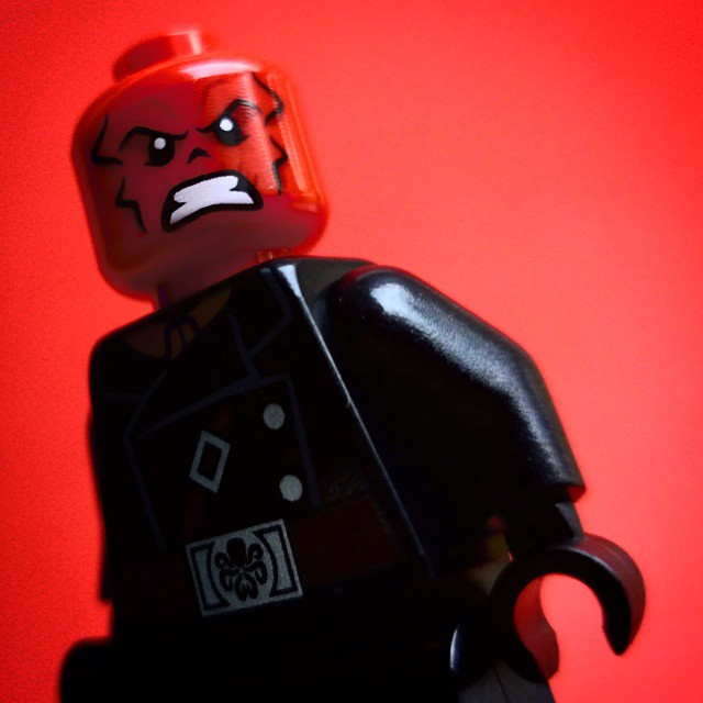 Cut Off One Head Two More Shall Take Its Place Hail Hydra - Red Skull