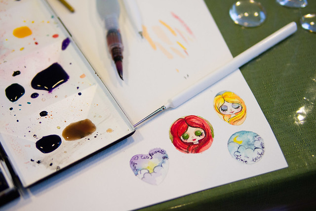 Painting Pull Charms