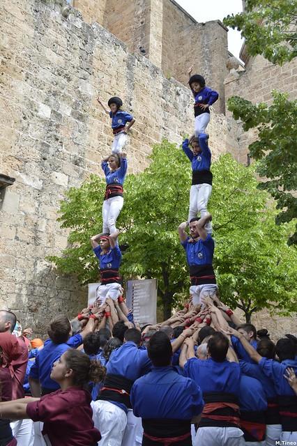 Castellers d'Esplugues a l'Aniversari de Cast. Esparreguera