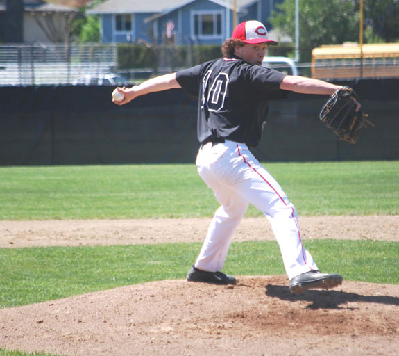 SPORTS - Cheney baseball Connor Pratt - 05142015