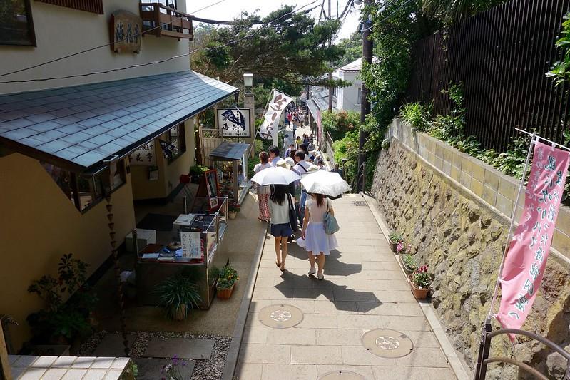 京都みたいな江の島の小路