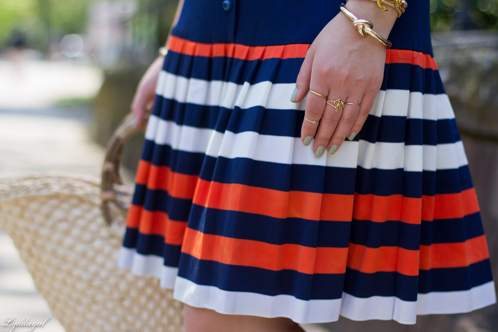 navy drop waist dress, panama hat, straw bag-9.jpg